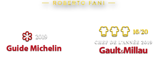 Roberto Fani - Chef de l'année 2019